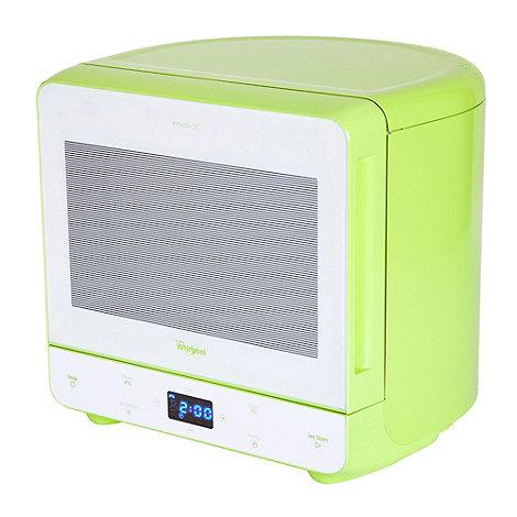 Whirpool - Whirlpool MAX35/GRN lime green 13 litre microwave