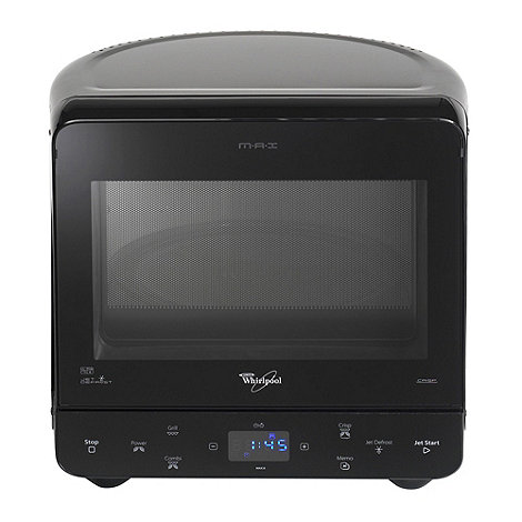 Whirpool - Whirlpool MAX38/BL black 13 litre microwave