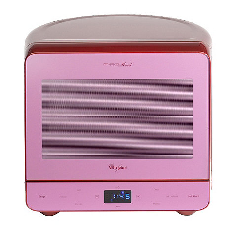 Whirpool - Whirlpool MAX38/SMG vibrant red 13 litre microwave