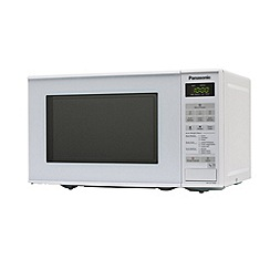 Panasonic - White free-standing microwave NN-E271W