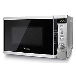 Breville - Silver Solo Microwave Oven VMW200