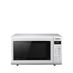 Panasonic - White microwave with oven and grill CT555W