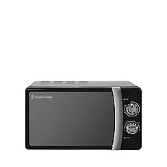 Russell Hobbs - 'Colours' 17L black manual microwave oven RHMM701B