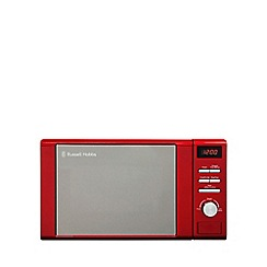 Russell Hobbs - 'Heritage' 20L red digital microwave oven RHM2064R