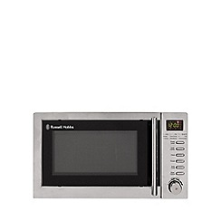 Russell Hobbs - 20L stainless steel digital microwave with grill RHM2031