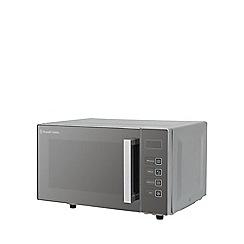 Russell Hobbs - Silver 'Easi' flatbed microwave RHEM2301S