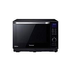 Panasonic - Black microwave with oven and grill NN-DS596BBPQ