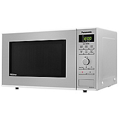 Panasonic - Black inverter microwave oven NN-SD27HSBPQ
