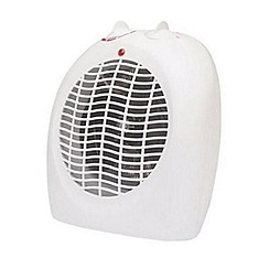Prem-i-air - White 'EH0152' upright fan heater