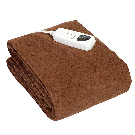 Sleeping Beauty - Brown heated throw SB5010