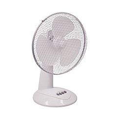 Prem-i-air - 12inch desk fan EH1522