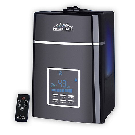 Heaven Fresh - Black digital ultrasonic humidifier HF707