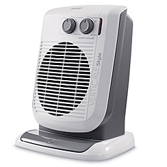 DeLonghi - De'longhi white fan heater HVF3533B