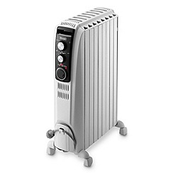 DeLonghi - De'longhi white 'Dragon' TRD4082OT oil filled radiator