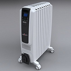 DeLonghi - Oil filled TRD40820E Dragon 2KW radiator