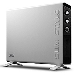 DeLonghi - Convector 'Slimstyle' HCX3224FTS 2.4KW convector heater