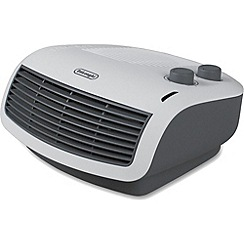 DeLonghi - White table top fan heater HTF3033