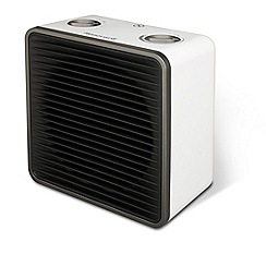 Honeywell - White square fan heater HZ220E1