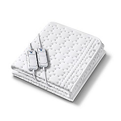 Beurer - Monogram by Beurer luxurious premium heated mattress cover - super king size/dual control 37564