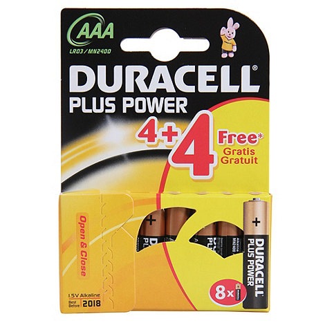 Duracell - Plus AAA batteries 96943