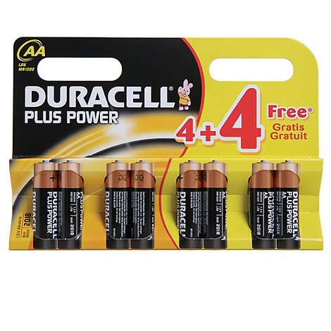 Duracell - Plus AA batteries 96943