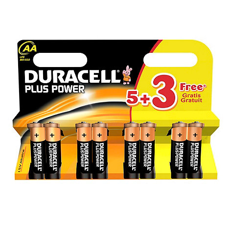 Duracell - Plus AA batteries