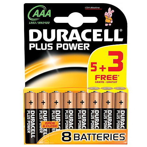 Duracell - Power plus AAA batteries