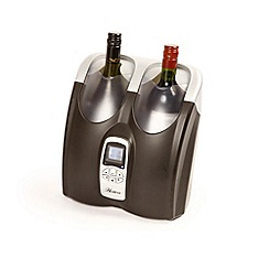 Hostess - Black HW02 twin wine cooler