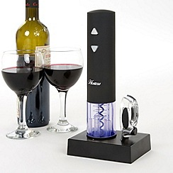 Hostess - Black rechargeable corkscrew CR00RA