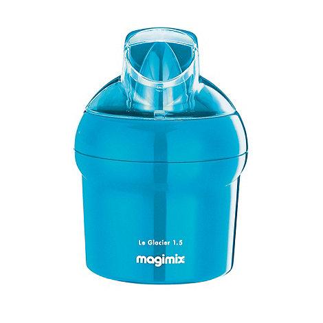 Magimix - Blue +Le Glacier 1.5+ ice cream maker