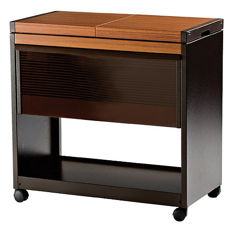Hostess - Teak wood effect +HL6200LB+ trolley
