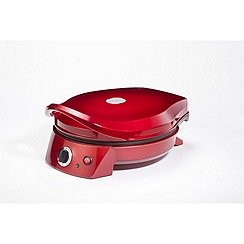 Gourmet Gadgetry - Red retro pizza oven and multi grill