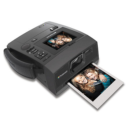 Polaroid - Black Z340 14 megapixel instant digital camera