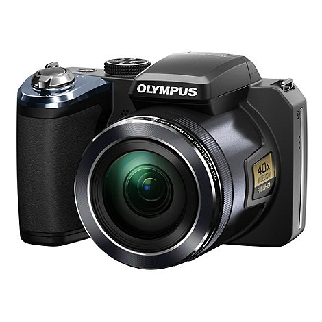 Olympus - SP-820UZ 14MP 40x optical zoom digital bridge camera