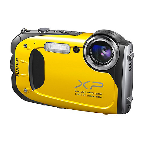 Fuji Film - Fuji Finepix XP60 yellow 16MP 5x optical zoom waterproof to 6m digital camera