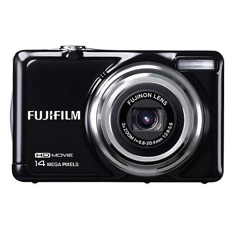 Fuji Film - Fuji Black Finepix JV500 Digital Camera
