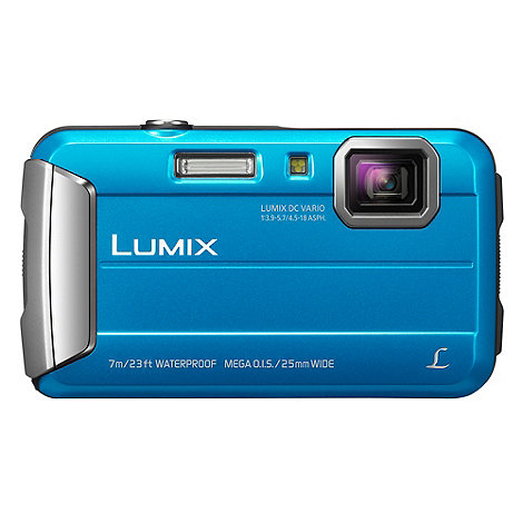 Panasonic - Blue DMC-FT25 Tough Digital Camera