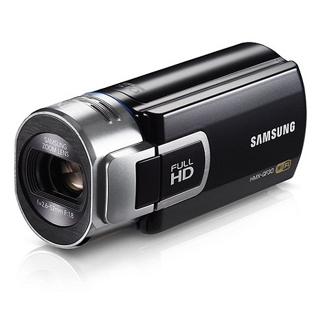Samsung - HMX-QF30 5MP 20x optical zoom camcorder
