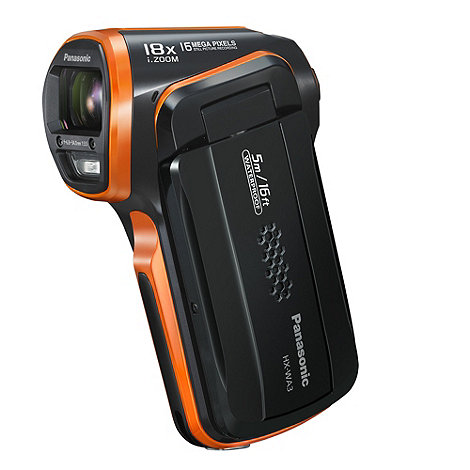 Panasonic - Orange +HX-WA3+ upright camcorder