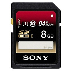 Sony - Memory card SF8UX 8GB