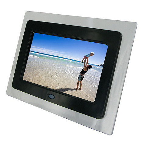 KitSound - Clear 7 inch digital photo frame