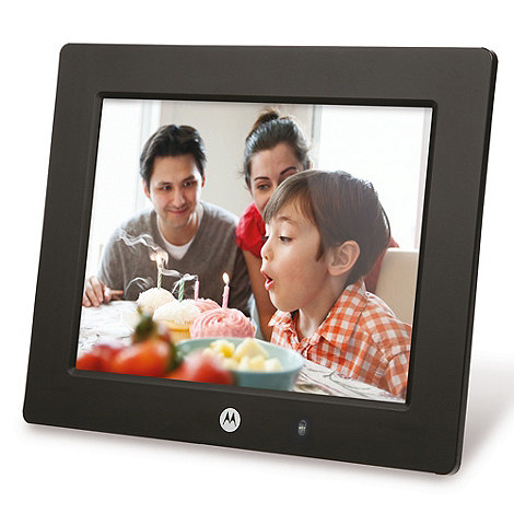 Motorola - MF801 8 inch digital photo frame