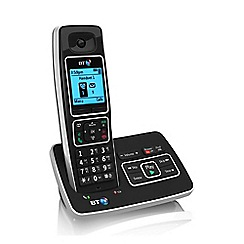 BT - Black 6500 single DECT telephone with answering machine & Nuisance call blocker