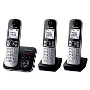 Panasonic Grey Triple Handset Telephone KX-TG6823
