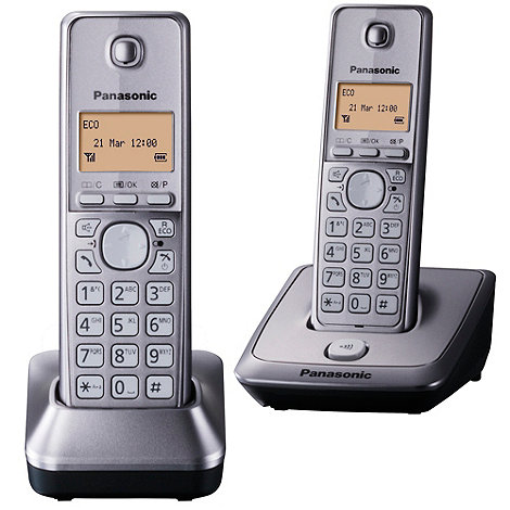 Panasonic - KX-TG2712 twin dect telephones