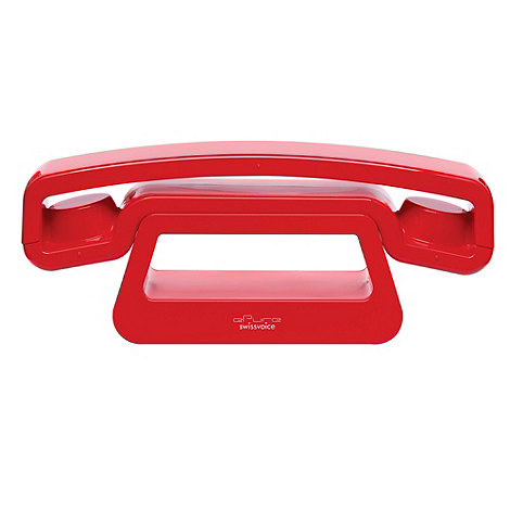 Swissvoice - Epure Red Cordless Dect Phone 45708