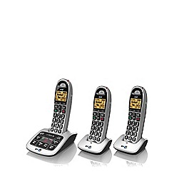 BT - Black 4500 triple DECT telephone with answering machine and nuisance Call blocker
