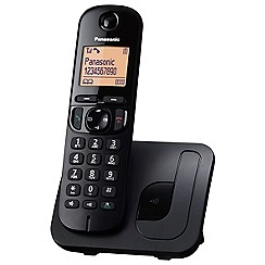 Panasonic - Panasonic KX-TGC210EB single DECT telephone