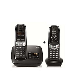 Gigaset - Twin dect telephone C620A with nuiscance call blocker