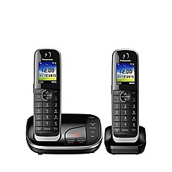 Panasonic - kx-tgj322eb twin dect phone
